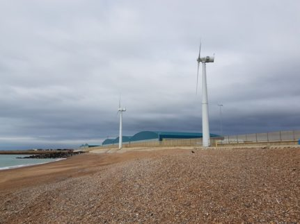 Wind turbine bird monitoring project after initial preliminary ecological appraisal and vegetative shingle survey